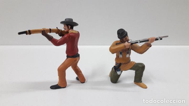 Figuras de Goma y PVC: VAQUEROS - COWBOYS . COMANSI - Foto 3 - 196104135