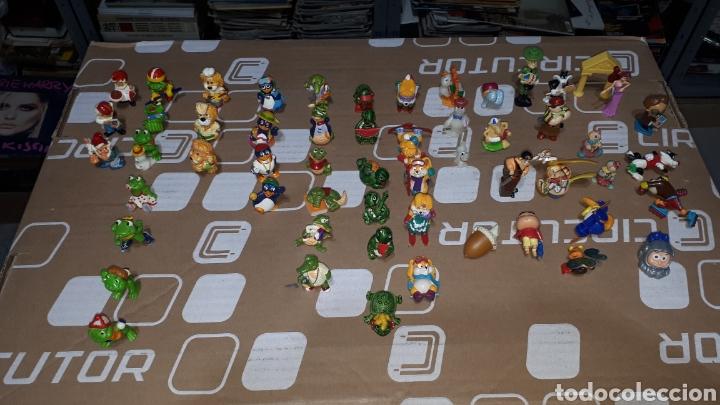 LOTE DE MÁS DE 50 PIEZAS ORIGINALES DUNKIN KINDER SORPRESA VARIAS SERIES (Juguetes - Figuras de Goma y Pvc - Dunkin)