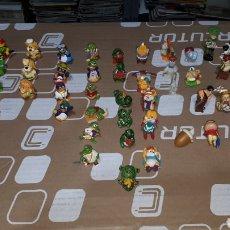 Figuras de Goma y PVC: LOTE DE MÁS DE 50 PIEZAS ORIGINALES DUNKIN KINDER SORPRESA VARIAS SERIES. Lote 196109033