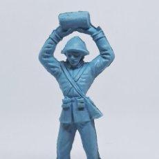 Figuras de Goma y PVC: FIGURA SOLDADO FRANCÉS 1009 DE LA COLECCIÓN SOLDADOS DEL MUNDO DE COMANSI. Lote 196142647