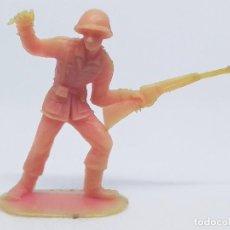 Figuras de Goma y PVC: FIGURA SOLDADO ESPAÑOL 1018 DE LA COLECCIÓN SOLDADOS DEL MUNDO DE COMANSI. Lote 196143368