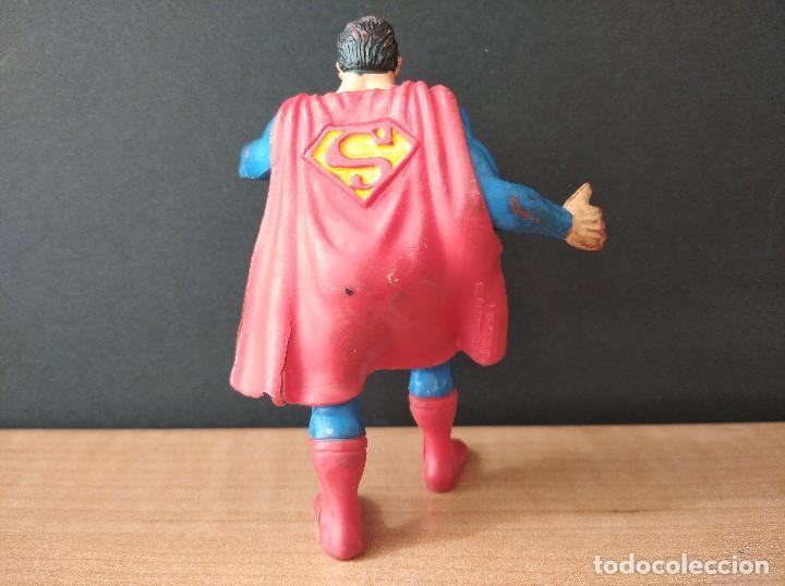 Figuras de Goma y PVC: FIGURA DC SUPERMAN-9cm aprox.-COMICS SPAIN-1988-VER FOTOS-B1-V1 - Foto 5 - 196209677