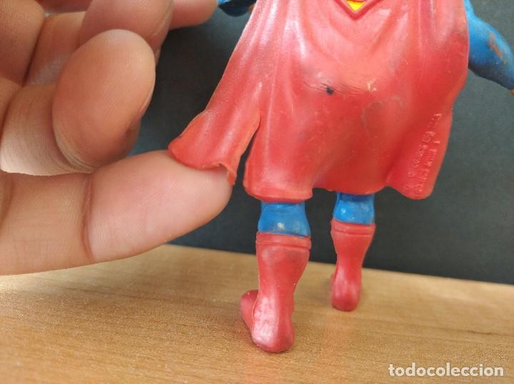 Figuras de Goma y PVC: FIGURA DC SUPERMAN-9cm aprox.-COMICS SPAIN-1988-VER FOTOS-B1-V1 - Foto 6 - 196209677