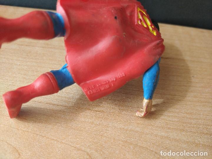 Figuras de Goma y PVC: FIGURA DC SUPERMAN-9cm aprox.-COMICS SPAIN-1988-VER FOTOS-B1-V1 - Foto 7 - 196209677