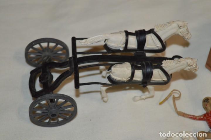 Figuras de Goma y PVC: OESTE AMERICANO - Diligencia y caballos - De COMANSI ¡Mira fotografías y detalles! - Foto 2 - 196300760