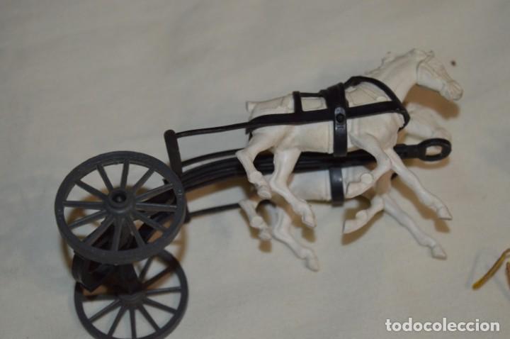 Figuras de Goma y PVC: OESTE AMERICANO - Diligencia y caballos - De COMANSI ¡Mira fotografías y detalles! - Foto 3 - 196300760