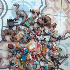 Figuras de Goma y PVC: BELEN AÑOS 60 FIGURAS PECH O HERMANOS FERRANDIZ. Lote 196325330
