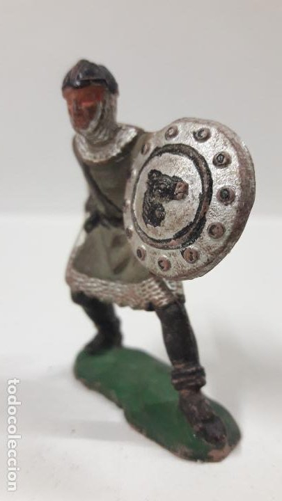 Figuras de Goma y PVC: GUERRERO MEDIEVAL . FIGURA REAMSA Nº 188 . SERIE REY ARTURO . AÑOS 50 EN GOMA - Foto 3 - 196377090