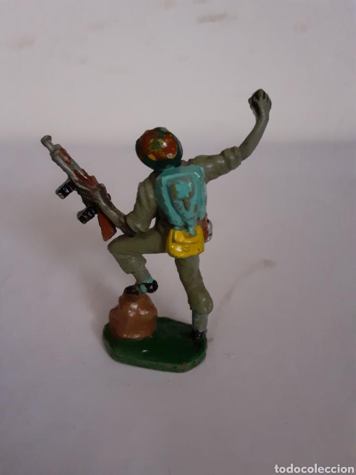 Figuras de Goma y PVC: SOLDADO AMERICANO PECH EN GOMA - Foto 2 - 196454507
