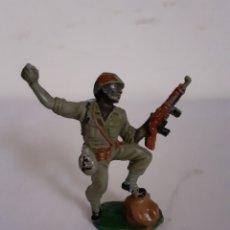 Figuras de Goma y PVC: SOLDADO AMERICANO PECH EN GOMA. Lote 196454507
