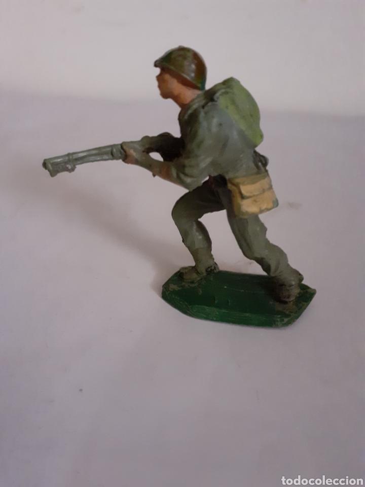 Figuras de Goma y PVC: SOLDADO AMERICANO PECH EN GOMA - Foto 2 - 196455165
