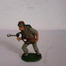 Figuras de Goma y PVC: SOLDADO AMERICANO PECH EN GOMA. Lote 196455581