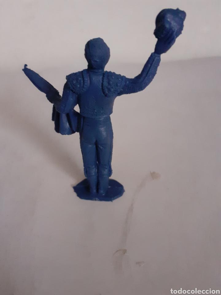 Figuras de Goma y PVC: FIGURA TORERO PIPERO EN PLASTICO - Foto 2 - 196473953