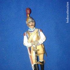 Figuras de Goma y PVC: SOLDADOS METAL - SOLDADO PLOMO 120MM. CABALLERÍA DE LINEA PRIMER IMPERIO 1810. Lote 196484011