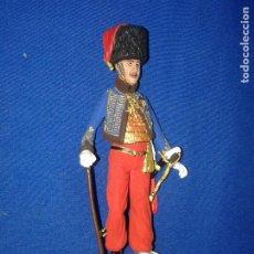 Figuras de Goma y PVC: SOLDADOS METAL - SOLDADO PLOMO 90MM. COLECCIÓN MUSEO DE L'HERMITAGE HÚSAR 1. Lote 196484987