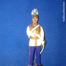 Figuras de Goma y PVC: SOLDADOS METAL - SOLDADO PLOMO 90MM. COLECCIÓN MUSEO DE L'HERMITAGE CORACERO. Lote 196485228