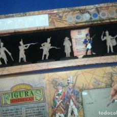 Figuras de Goma y PVC: JECSAN CAJA FIGURAS HISTORICAS PUCHOL. Lote 196488737
