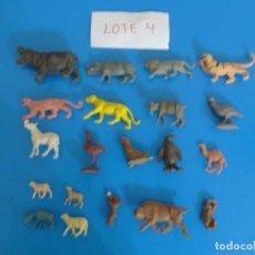 Figuras de Goma y PVC: LOTE DE 20 MUÑECOS DE ANIMALES DE COMANSI Y OTROS ANTIGUOS DE KIOSKO LEER BIEN ***** LOTE 4. Lote 196646936