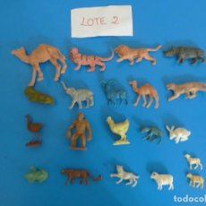 Figuras de Goma y PVC: LOTE DE 20 MUÑECOS DE ANIMALES DE COMANSI Y OTROS ANTIGUOS DE KIOSKO LEER BIEN ***** LOTE 2. Lote 196647818