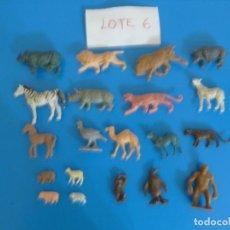 Figuras de Goma y PVC: LOTE DE 20 MUÑECOS DE ANIMALES DE COMANSI Y OTROS ANTIGUOS DE KIOSKO LEER BIEN ***** LOTE 6. Lote 196647966