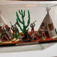 Figuras de Borracha e PVC: SOLDADITOS JUGUETE HISTOIRE ET TRADITION FIGURINES DEPOSEES AÑOS 60 NORMANDIE NOREV. Lote 196741852