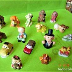 Figuras de Goma y PVC: LOTE 17 MINIFIGURAS VARIADAS DE RESINA. Lote 196755351