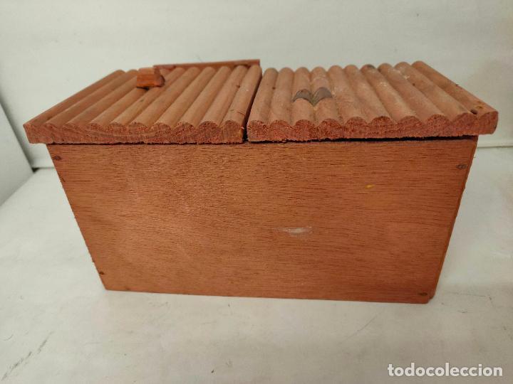 Figuras de Goma y PVC: Casas de madera fabricadas para Teixido por Juguetes Gracia. Herrería,Banco,Almacen y Carcel.Sin uso - Foto 3 - 196773930