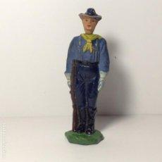 Figurines en Caoutchouc et PVC: FIGURA DE GOMA DESCABEZADOS RIN TIN TIN JECSAN 13. Lote 196796540