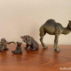 Figure di Gomma e PVC: HAUSSER ELASTOLIN LOTE DE FIGURAS DE ANIMALES. Lote 196884265