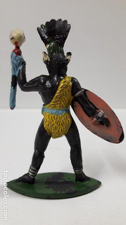 Figuras de Goma y PVC: HECHICERO - BRUJO AFRICANO . REALIZADO POR ALCA - CAPELL . AÑOS 50 EN GOMA - Foto 2 - 196907588