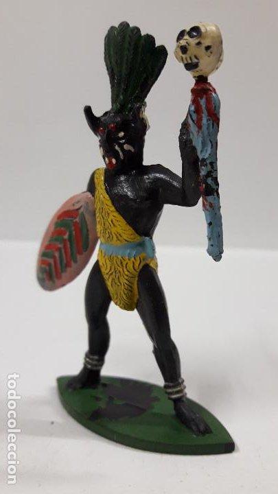 Figuras de Goma y PVC: HECHICERO - BRUJO AFRICANO . REALIZADO POR ALCA - CAPELL . AÑOS 50 EN GOMA - Foto 3 - 196907588