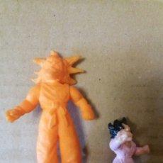 Figurines en Caoutchouc et PVC: LOTE 2 ANTIGUAS FIGURAS GOKU BOLA DE DRAGON. Lote 196974256