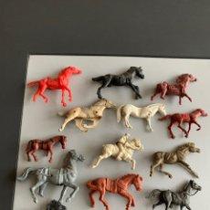 Figuras de Goma y PVC: LOTE 15 CABELLOS ANTIGUOS ( CON TARA) ALGUNOS DIFÍCILES . PECH/COMANSI/LAFREDO/JECSAN. Lote 197156097