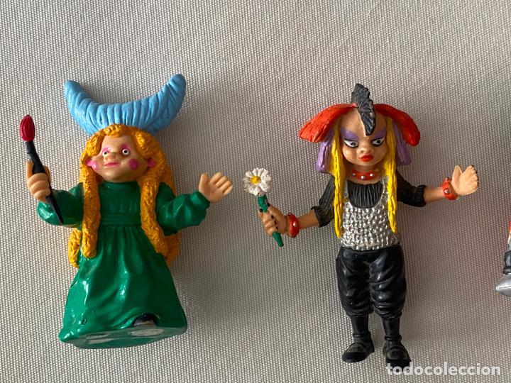 Figuras de Goma y PVC: COMICS SPAIN LOTE DE 5 FIGURAS DE LA BOLA DE CRISTAL - Foto 2 - 197192967
