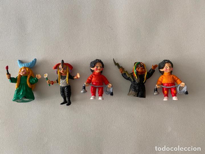 COMICS SPAIN LOTE DE 5 FIGURAS DE LA BOLA DE CRISTAL (Juguetes - Figuras de Goma y Pvc - Comics Spain)