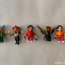 Figuras de Goma y PVC: COMICS SPAIN LOTE DE 5 FIGURAS DE LA BOLA DE CRISTAL . Lote 197192967