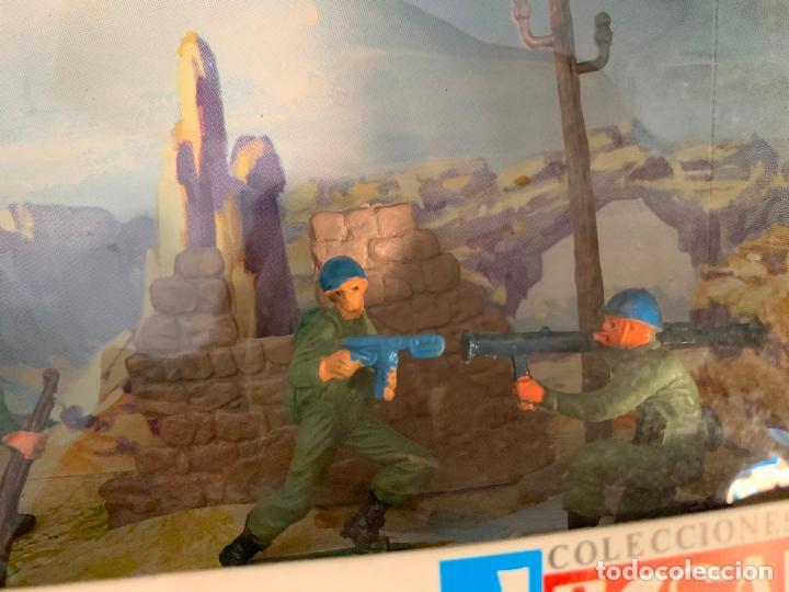 Figuras de Goma y PVC: JECSAN CASCOS AZULES RFA 40 SOLDADOS - Foto 3 - 197201201