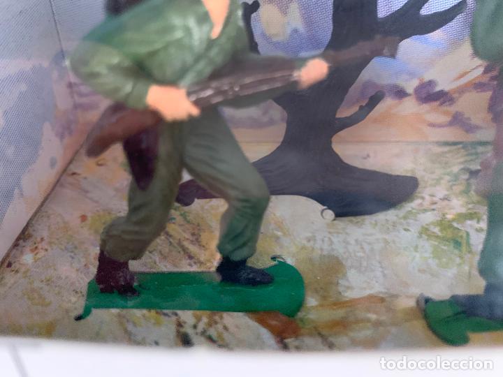 Figuras de Goma y PVC: JECSAN CASCOS AZULES RFA 40 SOLDADOS - Foto 4 - 197201201