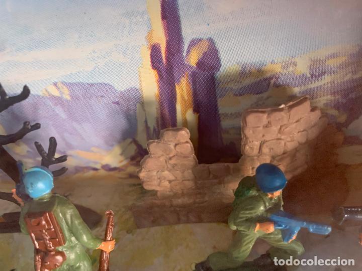 Figuras de Goma y PVC: JECSAN CASCOS AZULES RFA 40 SOLDADOS - Foto 5 - 197201201