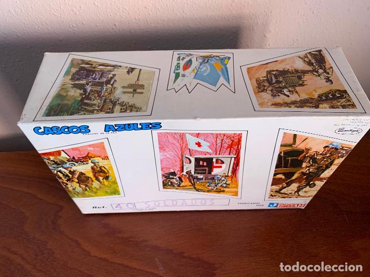 Figuras de Goma y PVC: JECSAN CASCOS AZULES RFA 40 SOLDADOS - Foto 7 - 197201201