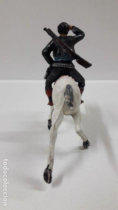 Figuras de Goma y PVC: CHARRO A CABALLO . REALIZADO POR PECH . SERIE CHARROS . AÑOS 50 EN GOMA - Foto 4 - 197390648