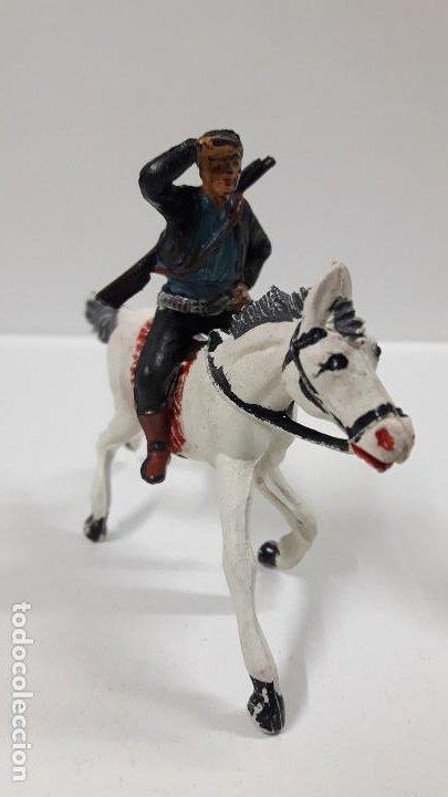 Figuras de Goma y PVC: CHARRO A CABALLO . REALIZADO POR PECH . SERIE CHARROS . AÑOS 50 EN GOMA - Foto 9 - 197390648
