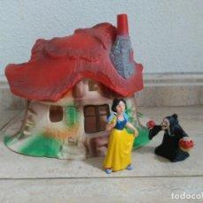 Figuras de Goma y PVC: SETA. CASA DE BLANCANIEVES Y LOS SIETE ENANITOS. BULLYLAND. FIGURA DE BLANCANIEVES Y BRUJA. BULLY.. Lote 134185838