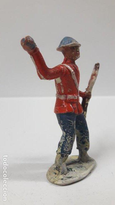 Figuras de Goma y PVC: ANTIGUO SOLDADO DE INFANTERIA - AMERICANO . REALIZADO POR ALCA - CAPELL . AÑOS 50 EN GOMA - Foto 4 - 197412961