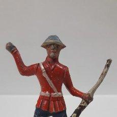 Figuras de Goma y PVC: ANTIGUO SOLDADO DE INFANTERIA - AMERICANO . REALIZADO POR ALCA - CAPELL . AÑOS 50 EN GOMA. Lote 197412961