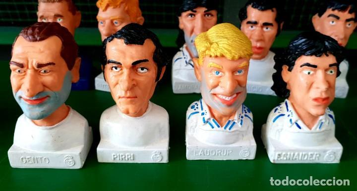 Figuras de Goma y PVC: Colección de 13 Figuras Históricas Bustos Real Madrid Cómics Spain - Foto 3 - 197413696