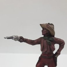 Figuras de Goma y PVC: VAQUERO - COWBOY . FIGURA REAMSA Nº 83 . AÑOS 50 EN GOMA . SERIE PEQUEÑA. Lote 197416336