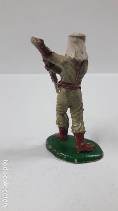 Figuras de Goma y PVC: SOLDADO DE LA LEGION EXTRANJERA . REALIZADO POR LAFREDO . AÑOS 50 EN GOMA - Foto 2 - 197419116