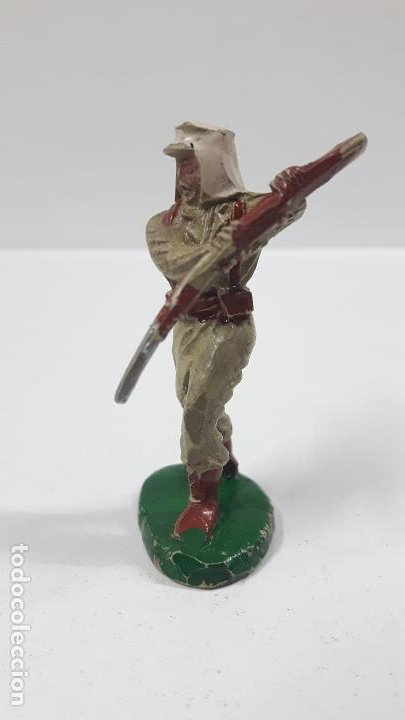 Figuras de Goma y PVC: SOLDADO DE LA LEGION EXTRANJERA . REALIZADO POR LAFREDO . AÑOS 50 EN GOMA - Foto 3 - 197419116