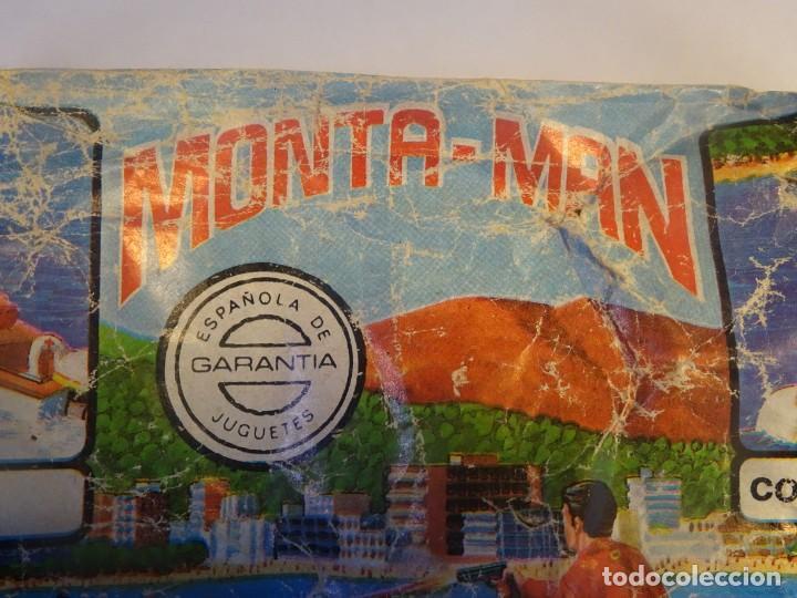Figuras de Goma y PVC: ANTIGUO SOBRE DE MONTA-MAN LANCHA DE SALVAMENTO ,MONTAPLEX, VER DESCRIPCIÓN Y FOTOS - Foto 3 - 197462513